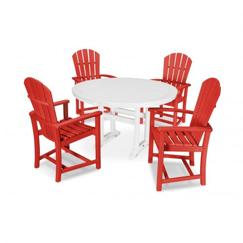 5 Piece Palm Coast Dining Set 1