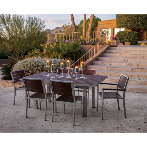Euro 7-Piece Dining Set 9