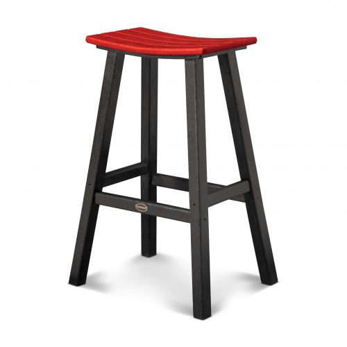 "Contempo 30"" Saddle Bar Stool 31"