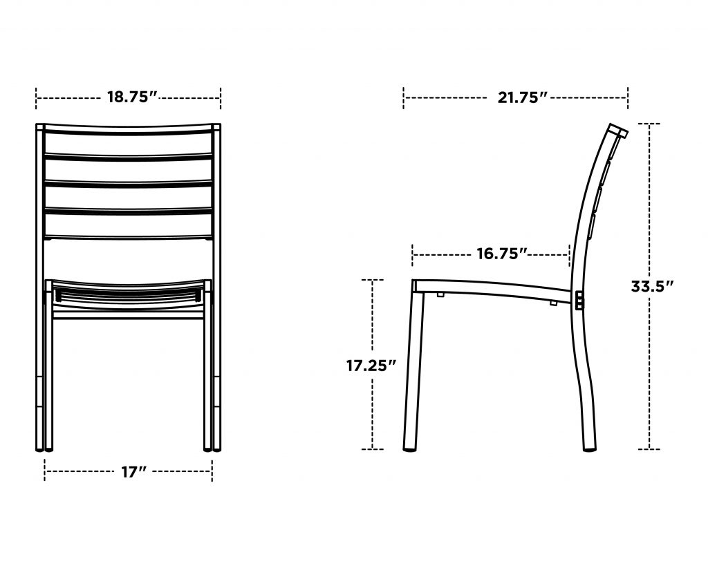 Euro Dining Side Chair 5