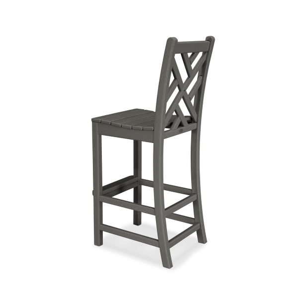 Chippendale Bar Side Chair 2