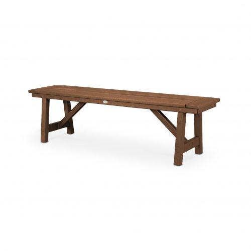 "Rustic Farmhouse 60"" Backless Bench 1"
