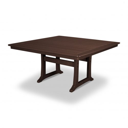"Nautical Trestle 59"" Dining Table 14"
