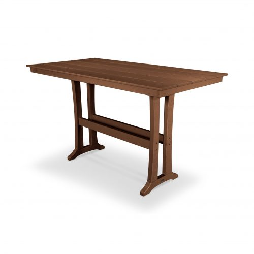 "Farmhouse 37"" x 72"" Bar Table 38"