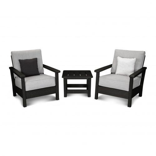 Harbour 3-Piece Deep Seating Set 2