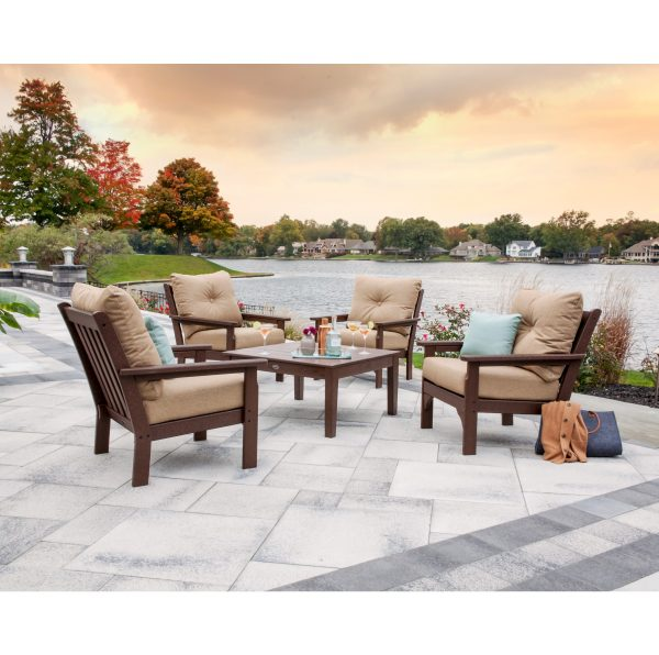 Vineyard 5-Piece Deep Seating Conversation Set 2