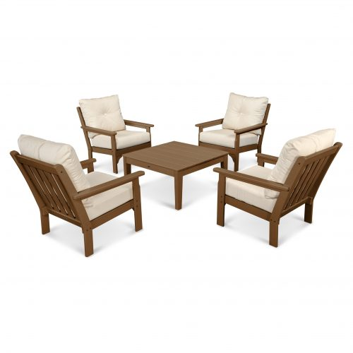 Vineyard 5-Piece Deep Seating Conversation Set 34