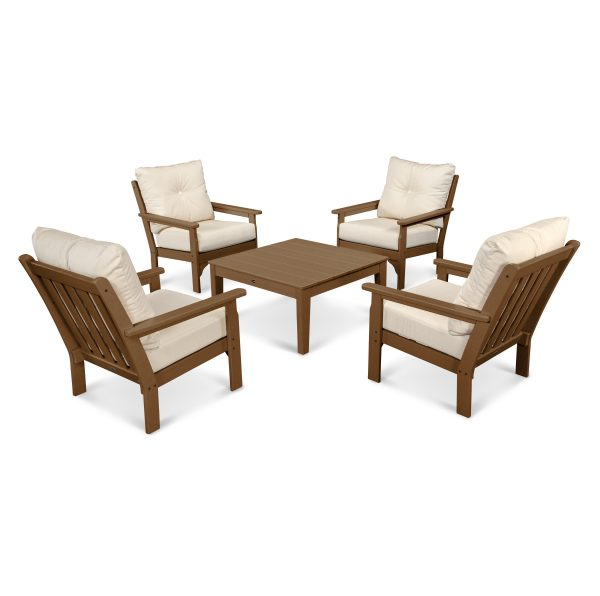 Vineyard 5-Piece Deep Seating Conversation Set 1