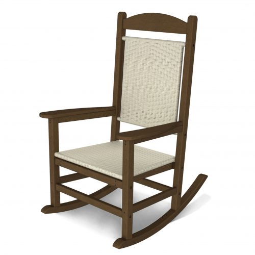 Presidential Woven Rocking Chair 8