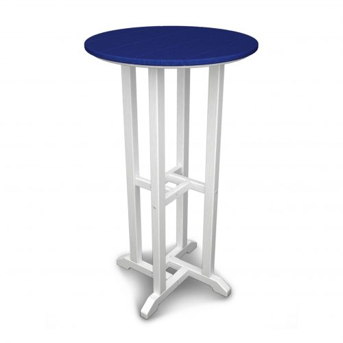 "Contempo 24"" Round Bar Table 30"