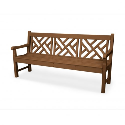 """Rockford 72"""" Chippendale Bench 7"""