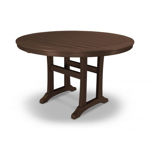"Nautical Trestle 48"" Round Dining Table 13"