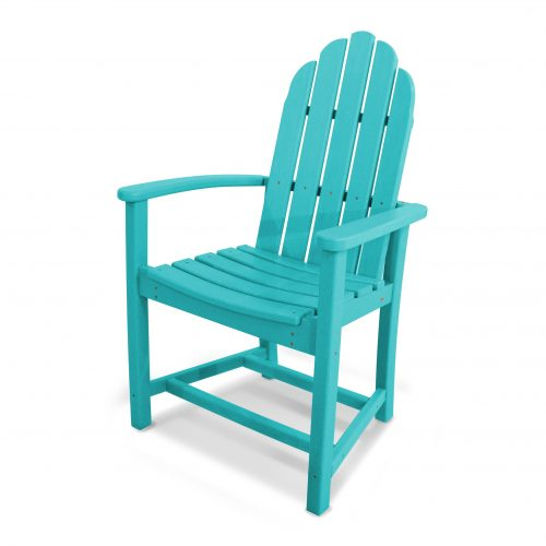Classic Adirondack Dining Chair 18