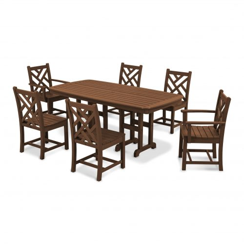 Chippendale 7-Piece Dining Set 9