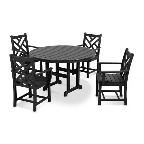 Chippendale 5-Piece Dining Set 8