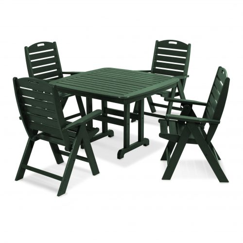 Nautical 5-Piece Dining Set 19