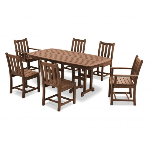 Traditional Garden 7-Piece Dining Set 31