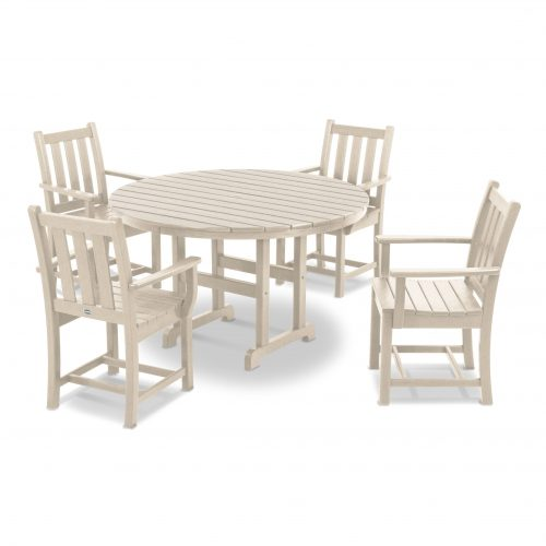 Traditional Garden 5-Piece Dining Set 30