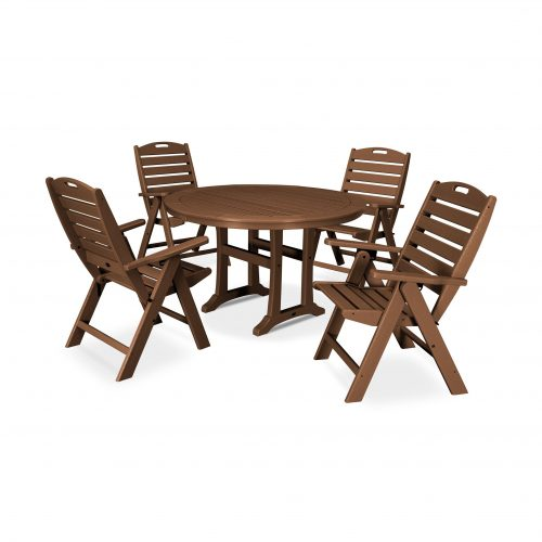 5 Piece Nautical Dining Set